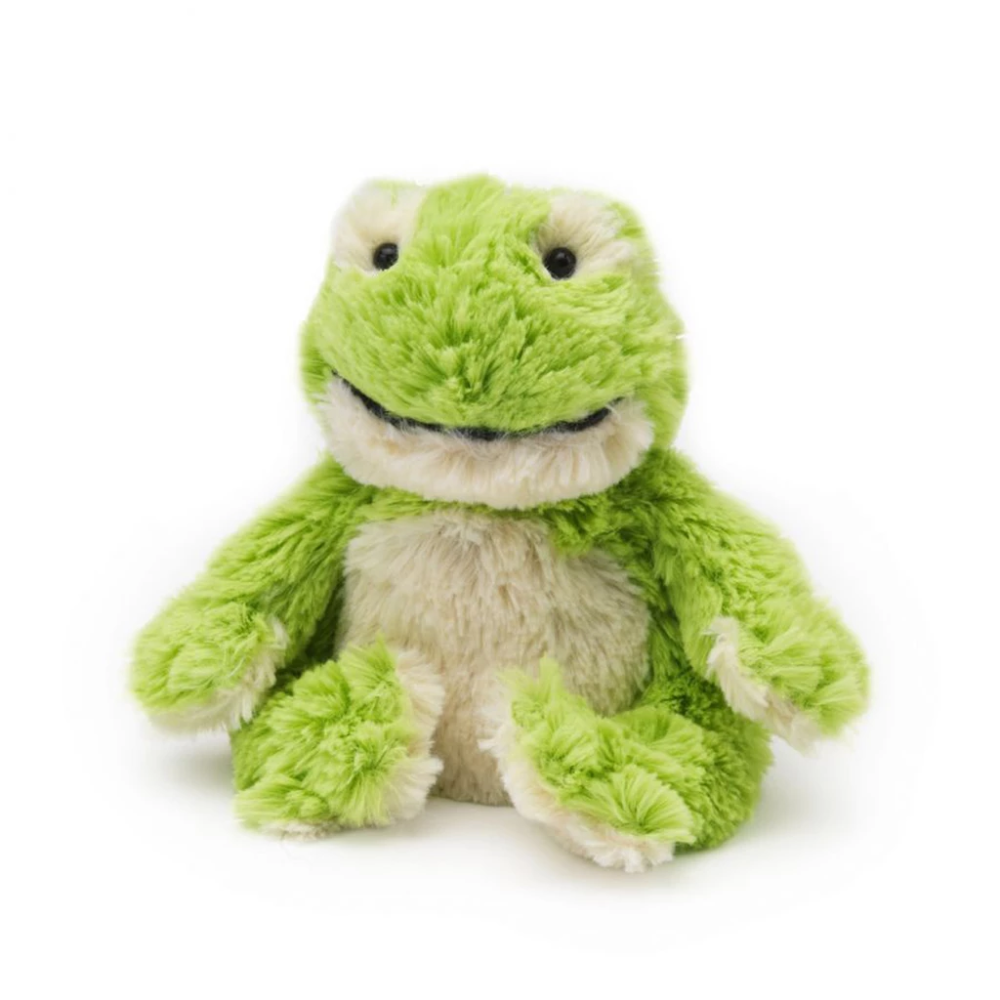 "Warmies® 9"" Junior Frog Plush animals, Plush, Toys"