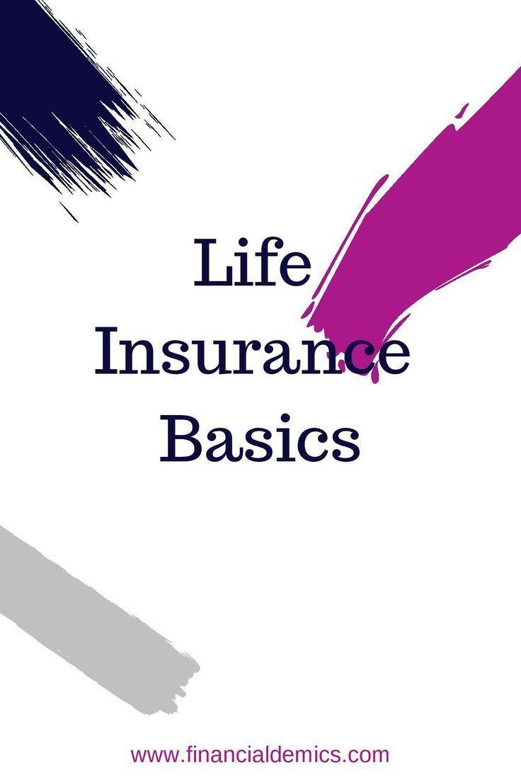 Life Insurance Basics: The Principle Types & Their ...
