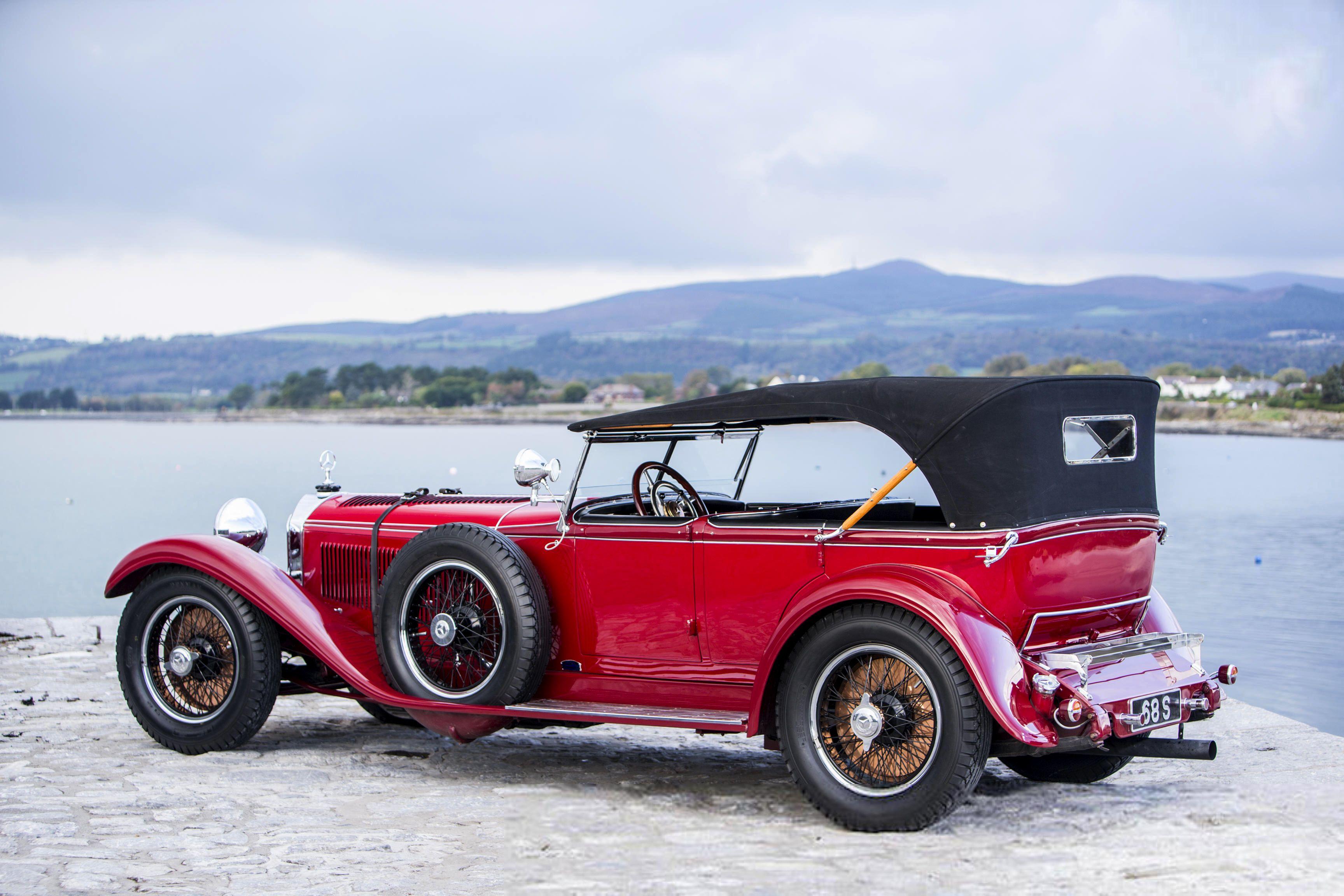 1928 Mercedes Benz Typ S 26 120 180 Sports Tourer Hermano
