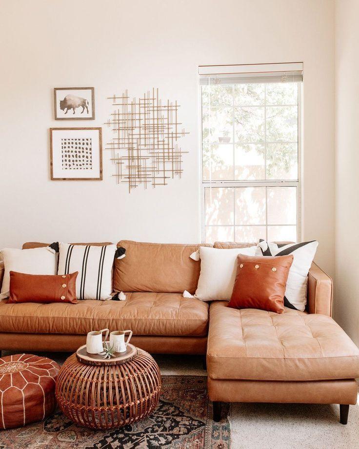august sage luna pom pillow  sofa design living room