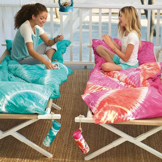 Tie Dye Sleeping Bag Pillow Case Pool Bedrooms