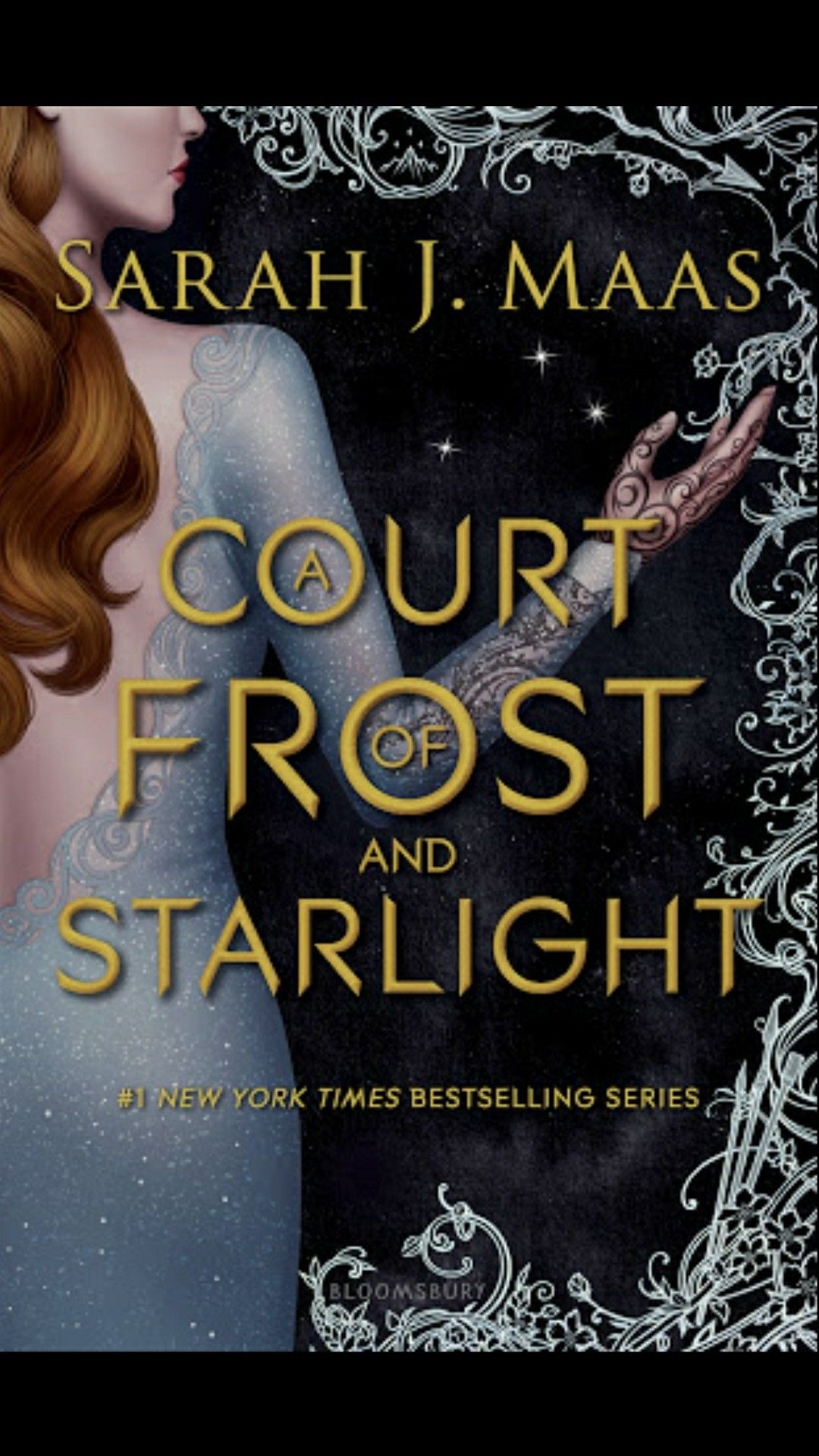 A Court Of Frost And Starlight The Cover Is So Beautiful With