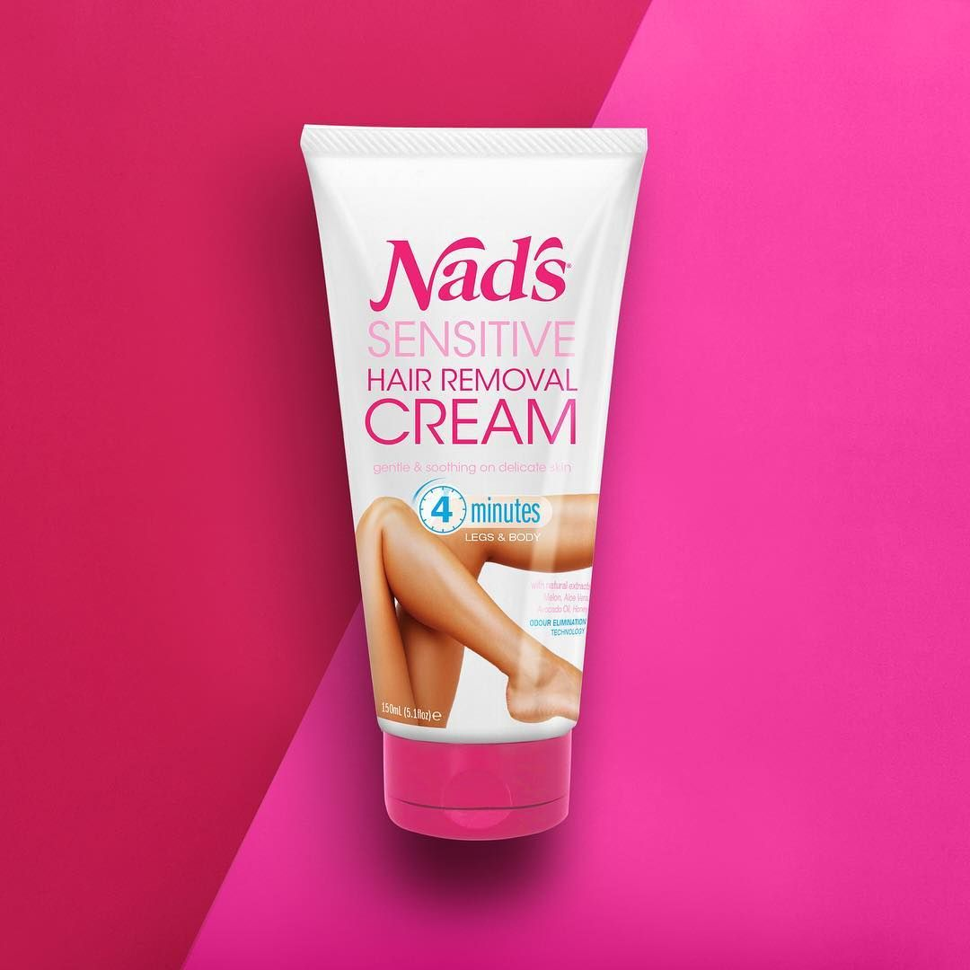 Nad's Sensitive Hair Removal Cream Hair removal cream