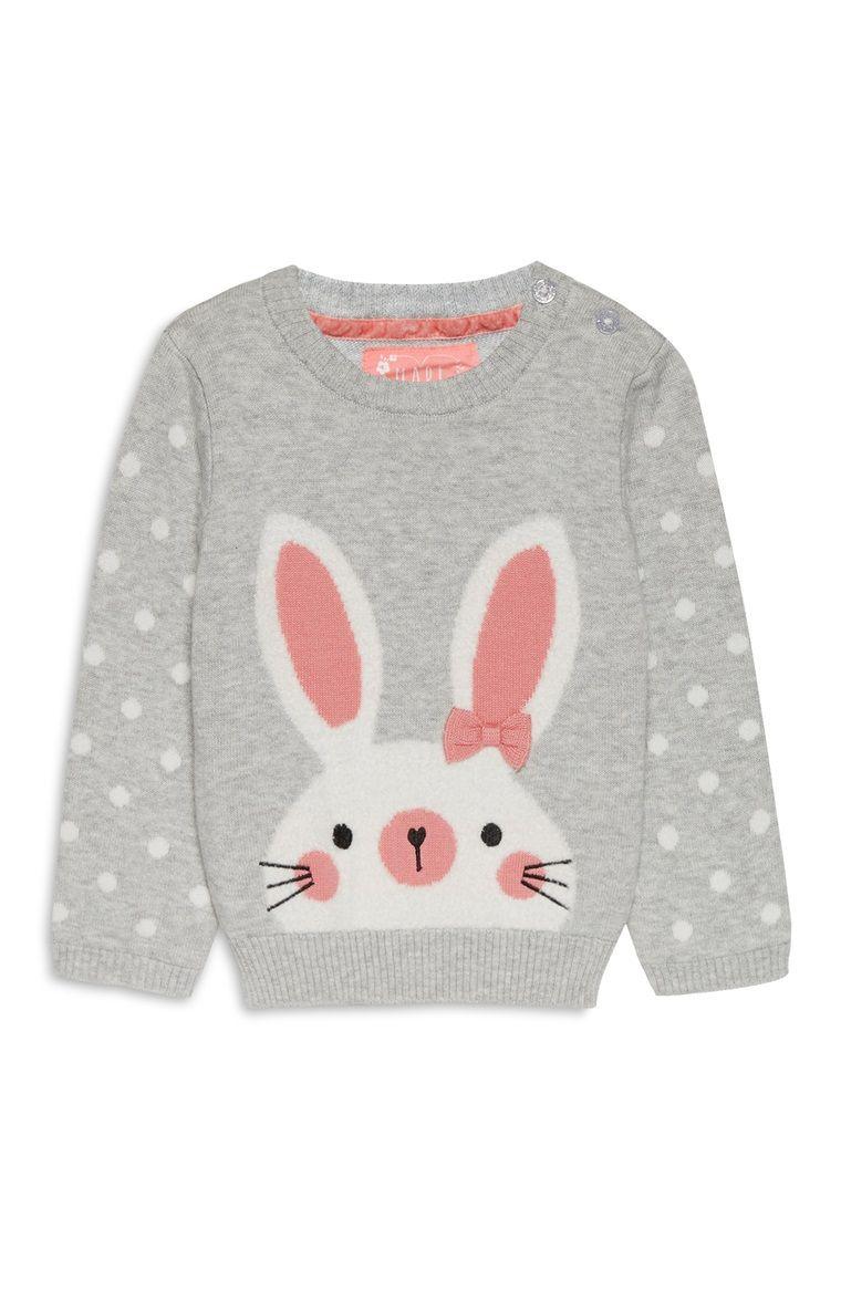 a17421426 Primark - Baby Girl Bunny Jumper