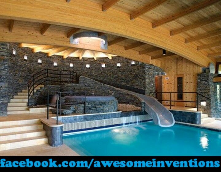 crazy indoor pool
