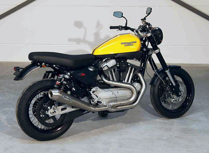 XR1200 turned scrambler with Arrow exhaust | Pipes | Cafe