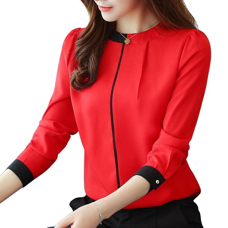Blouses & Shirts Womens Casual Cap Sleeve Bow Tie Shirt Solid Chiffon Blouse Tops Shirts Ropa Mujer Fashion Spring Summer Ladies Streetwear Discounts Price