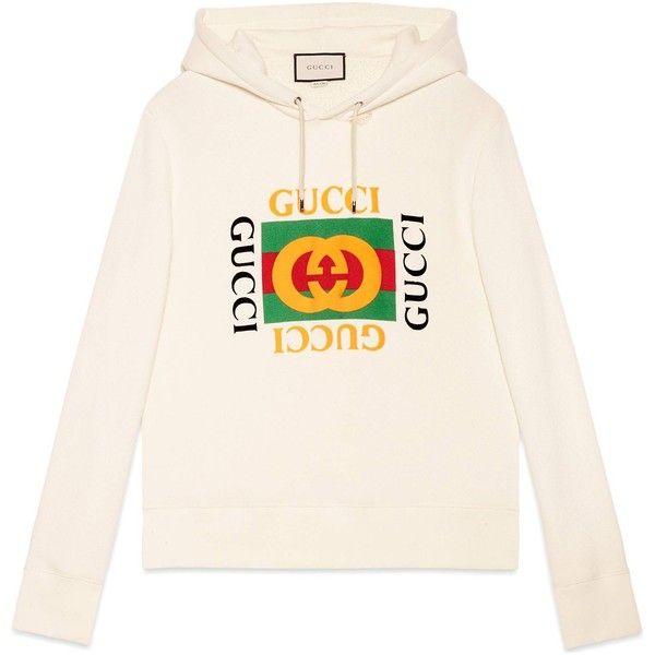 Cotton Sweatshirt With Gucci Logo ( 1 37268ff19