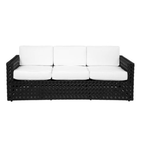 Home Décor Store | Affordable U0026 Modern Furniture. Portofino Outdoor Sofa    Black From Z Gallerie