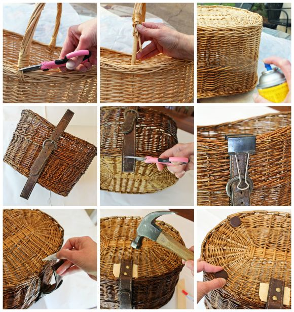 Marvelous Dog Toy Storage Basket Makeover Step By Step