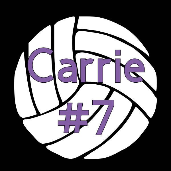 Personalized Volleyball Decal Window Decal Sports Decal Rtic - Window decals for sports