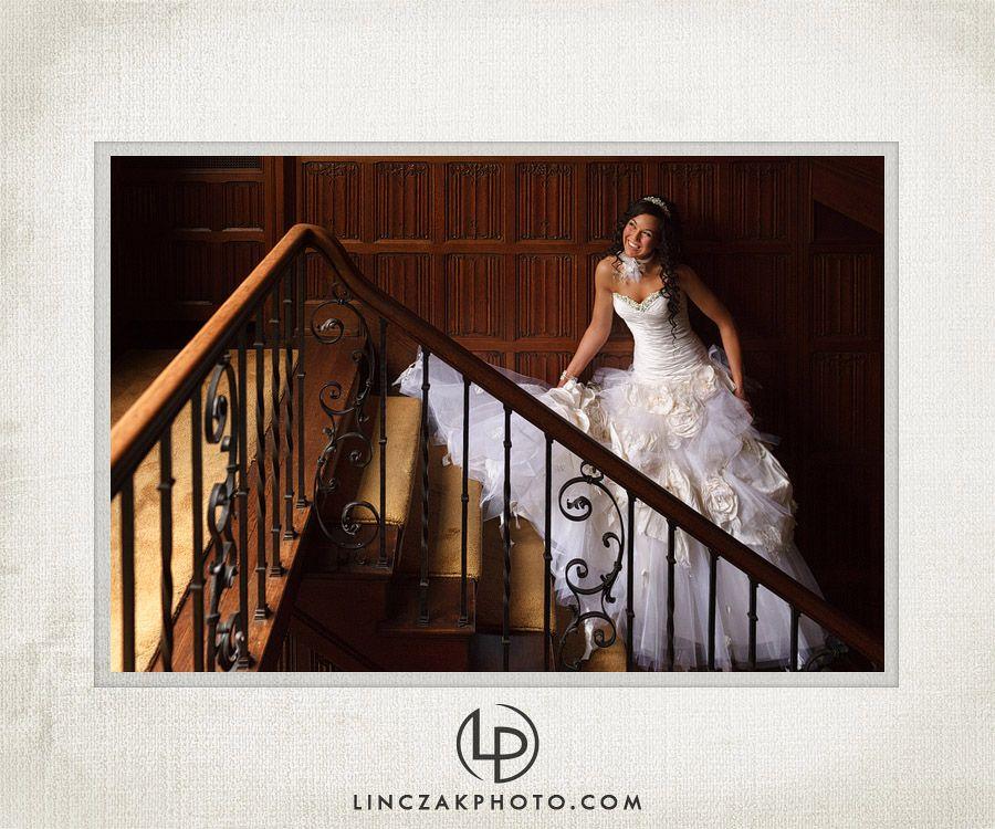 wedding picture locations akron ohio%0A Awardwinning wedding photographers Linczak Photography capture glamorous  images at the Akron Art Museum