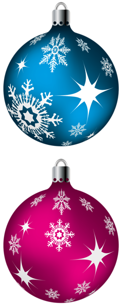 Blue And Pink Christmas Balls Png Clipart Picture Christmas Card Crafts Christmas Prints Christmas Clipart