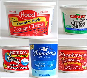 """Cottage Cheese  """"A half-cup serving of low-fat cottage cheese makes for a good snack, especially when sprinkled with some slivered almonds.""""     """"Almonds have more fiber than any other nut,"""" Gans says, """"and the cottage cheese is protein"""