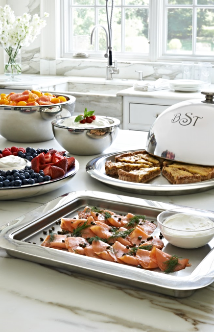 hot cold serving collection a merry soiree tray kitchen rh pinterest com