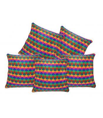 Decor Studioz Premium Mushroom Designed Cushion Cover