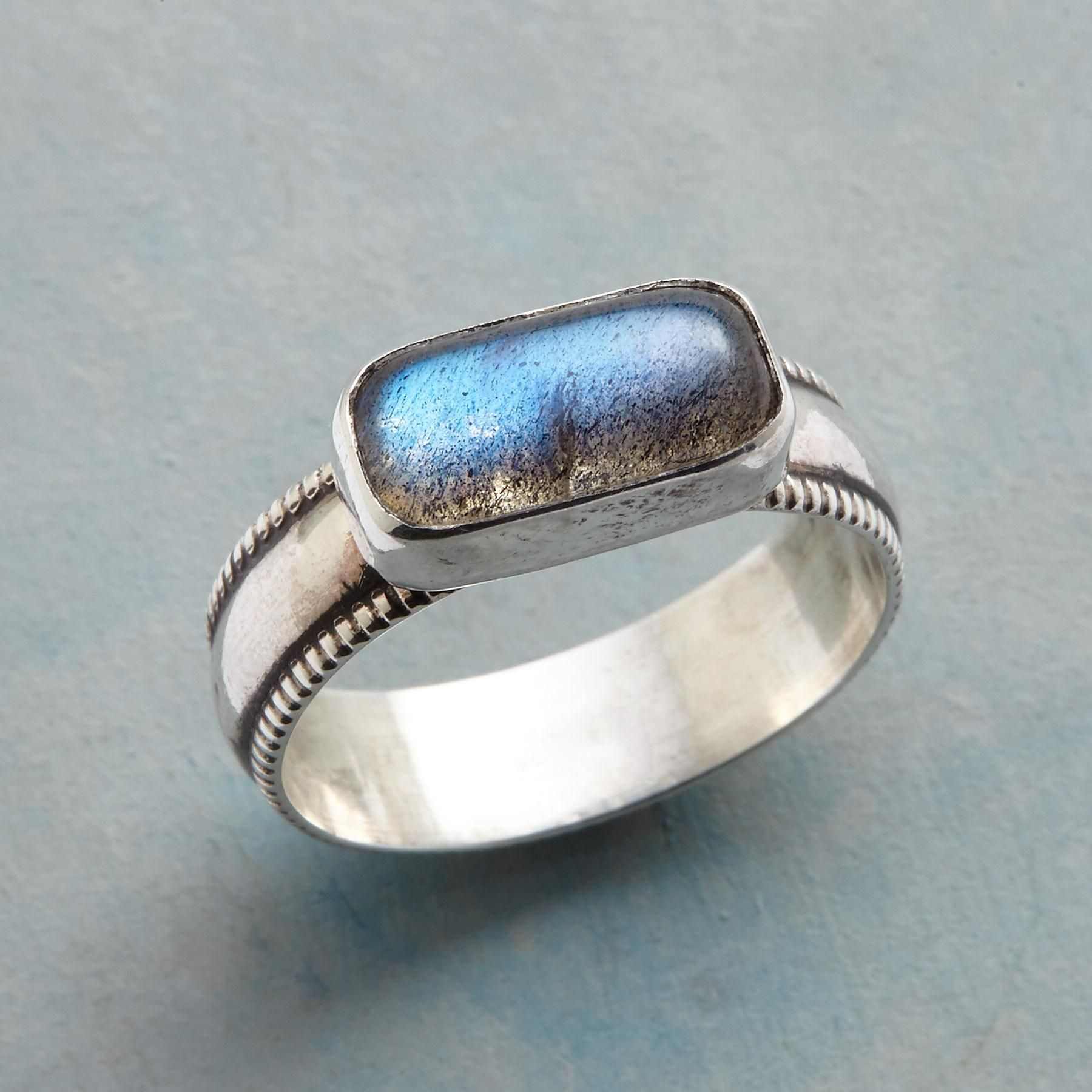solid sterling silver ring Gifts for her Gemstone and silver ring.Labradorite and sterling silver ring Labradorite ring Ring Size 6.25