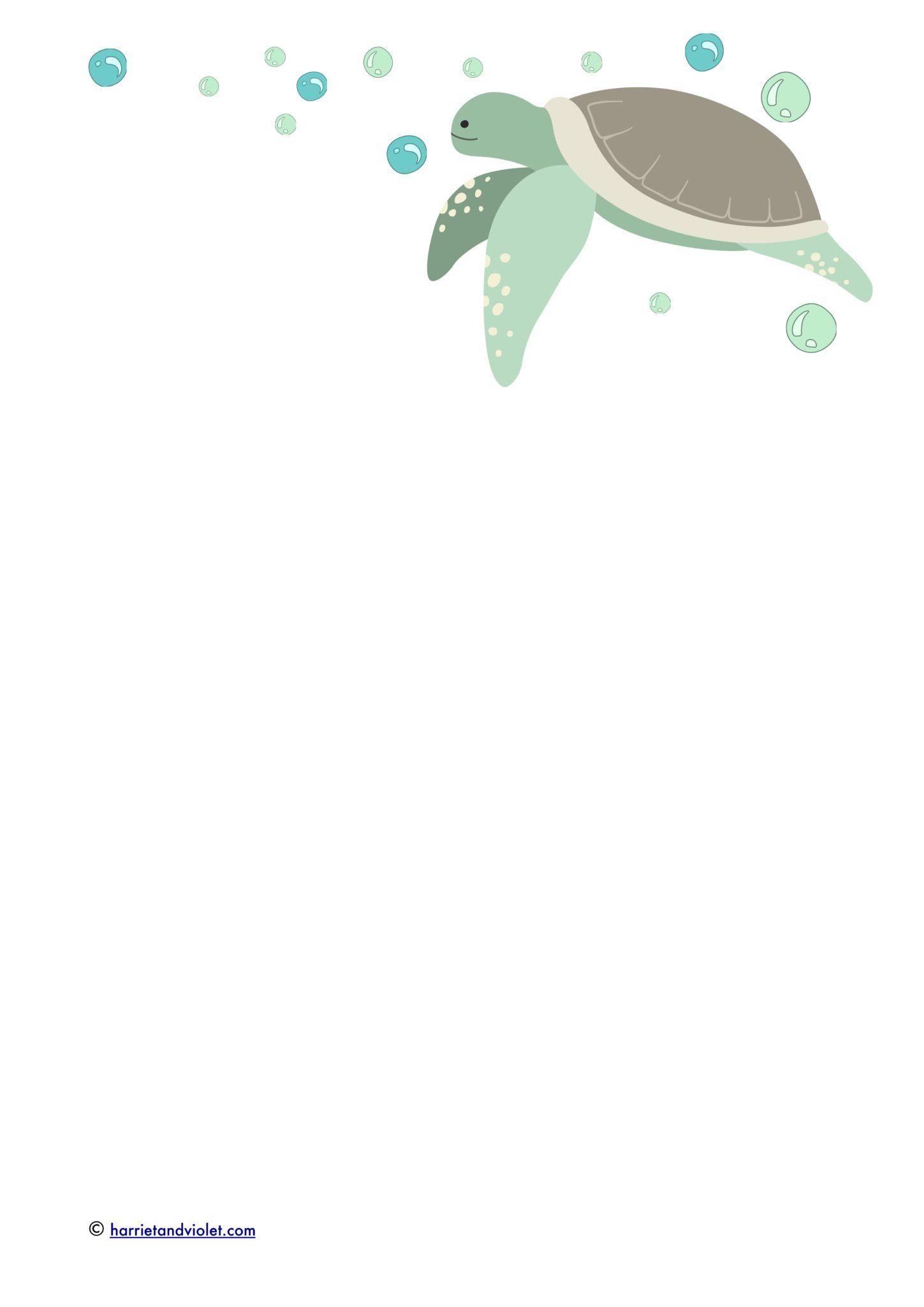 Harmonious sea turtles worksheet Useful