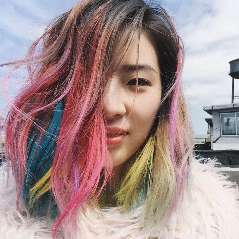Unicorn Irene Hair Extreme Hair Color Pinterest Hair Kim