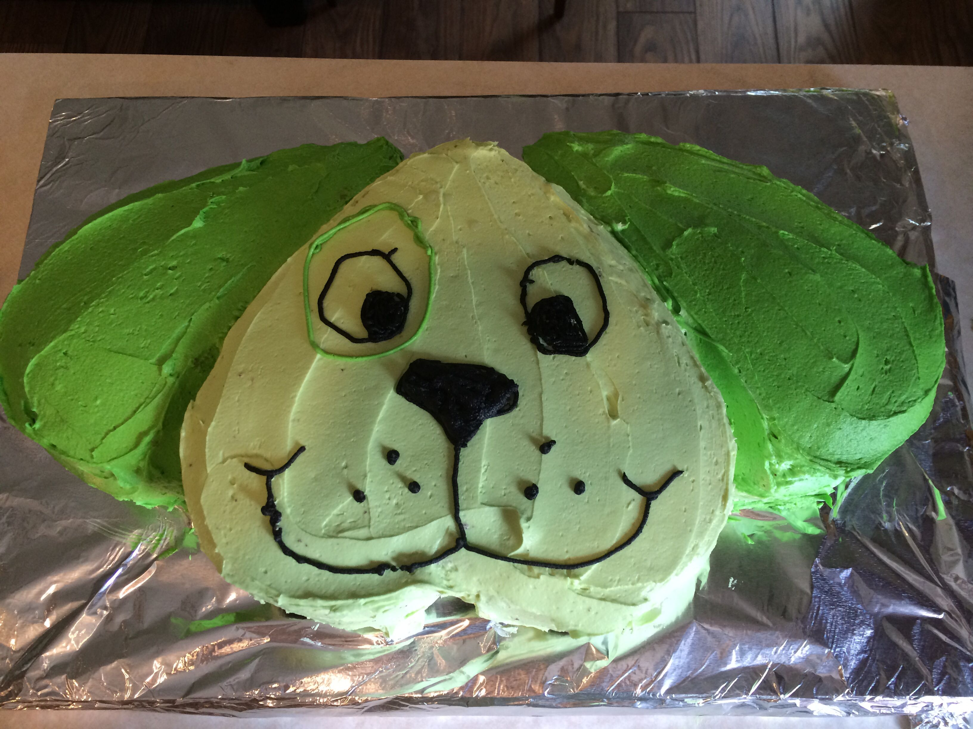 Leapfrog Scout Puppy Dog Birthday Cake When Our Soon To Be Three