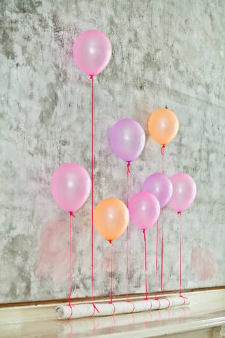 Keep It Simple Luftballon Deko In 2018 Diy Bar Pinterest