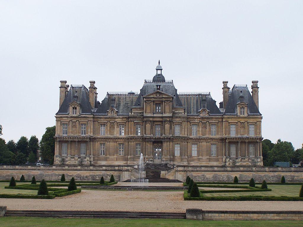 chateau de maison lafitte architecture baroque 1641 59. Black Bedroom Furniture Sets. Home Design Ideas