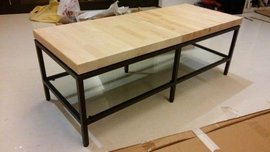 Contemporary wooden top tv bench tv bench wooden tops and ikea