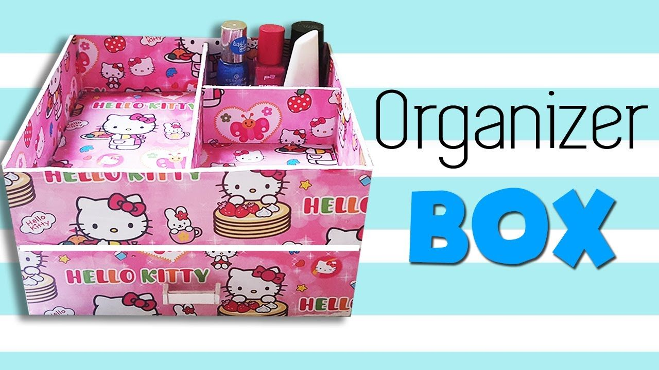 DIY Organizer Box DIY Hello Kitty Jewelry Organizers Box