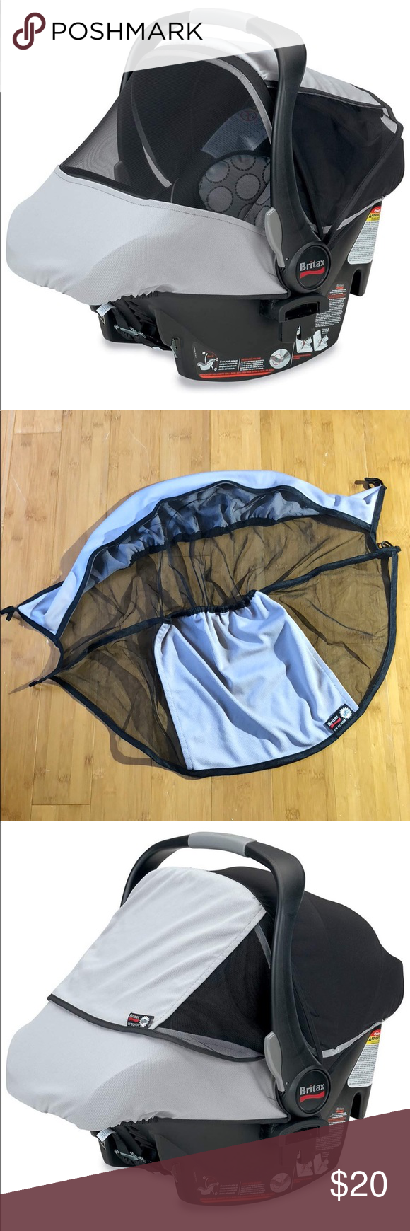 Astonishing Britax Infant Car Seat Sun And Bug Cover Excellent Condition Ocoug Best Dining Table And Chair Ideas Images Ocougorg
