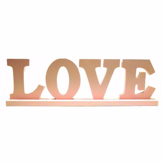 Word Signs Home Decor Classy Love Upcycled Wood Word Sign Pastel Pink Nursery Decor Decorating Design