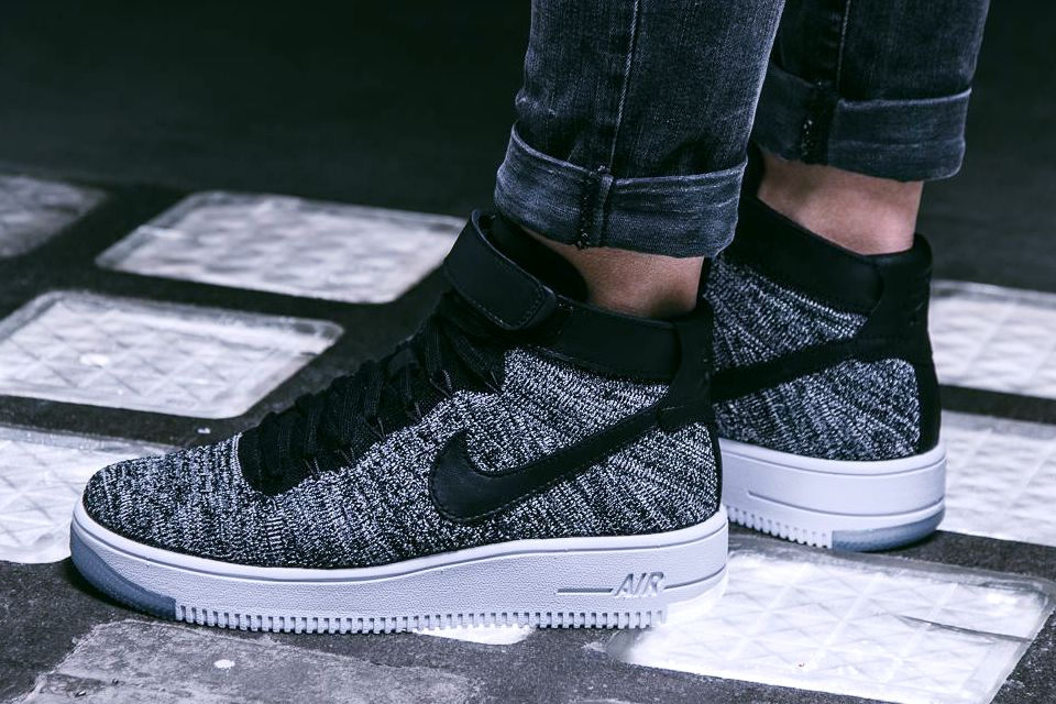 Nike Air Force One Ultra Flyknit Femme Oreo