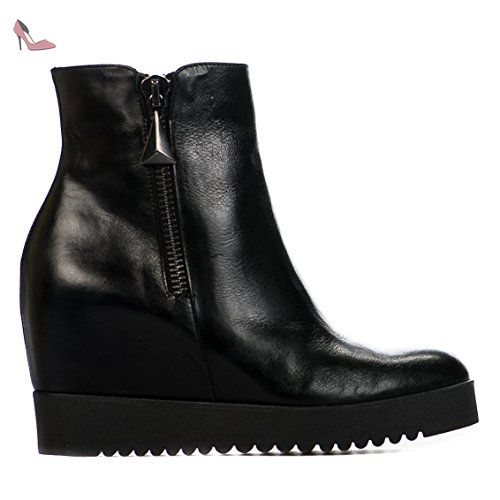 OPALE Millim 09433 DONNA VERA femme PIU Noir Boots ONy8vn0wm
