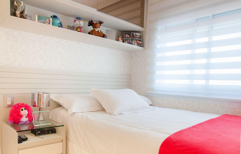 Veja dicas para quartos decorados femininos, através de um projeto realizado. O quarto feminino deve ser aconchegante e delicado, por isso requer atenção.