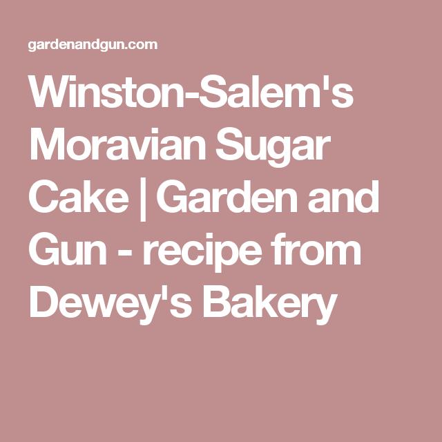 Moravian Sugar Cake Moravian Sugar Cake Sugar Cake