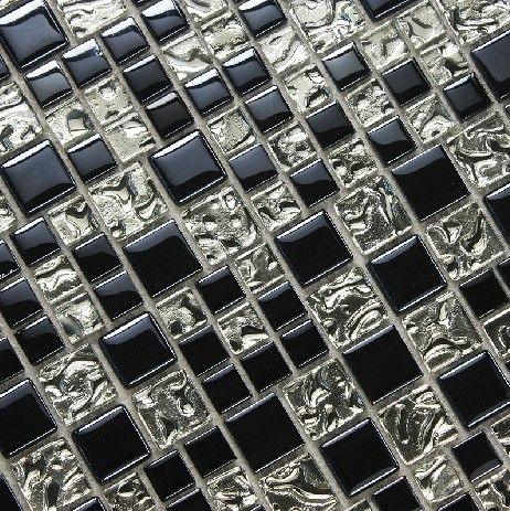 stainless steel mosaic tile glass mosaic kitchen backsplash tiles rh pinterest com