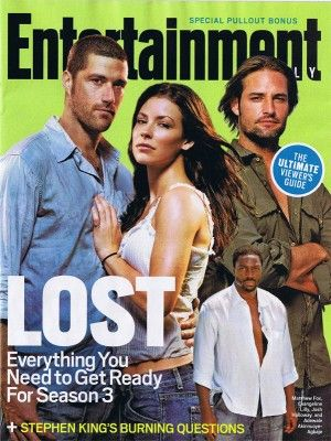 Entertainment Weekly LOST cover