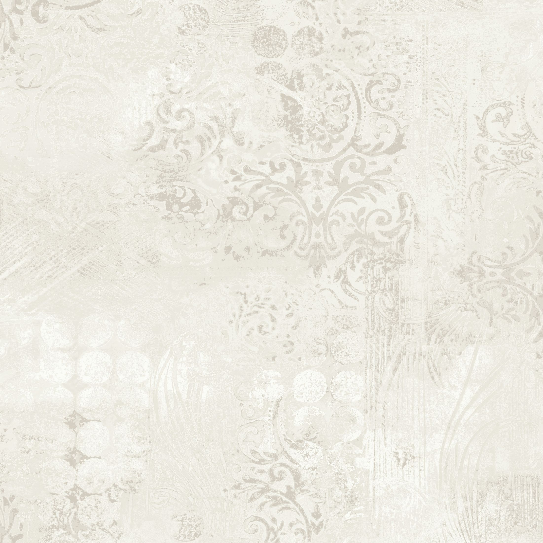 Roselea Soft Grey Texture Metallic Mica Wallpaper