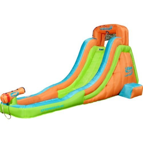 o rageous turbo slide inflatable water slide erin and connors rh pinterest com