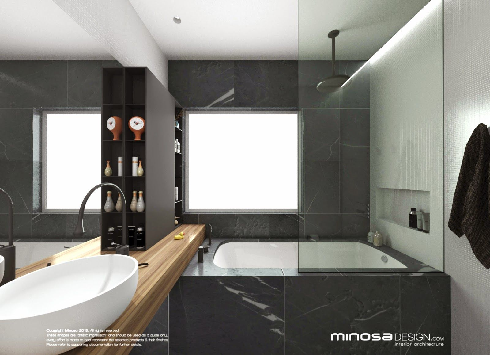 Minosa Design Bathroom Design Small space