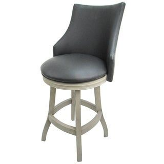 Swivel Wood Counter Bar Stool 26 Bellissima 26 Inch Seat Off