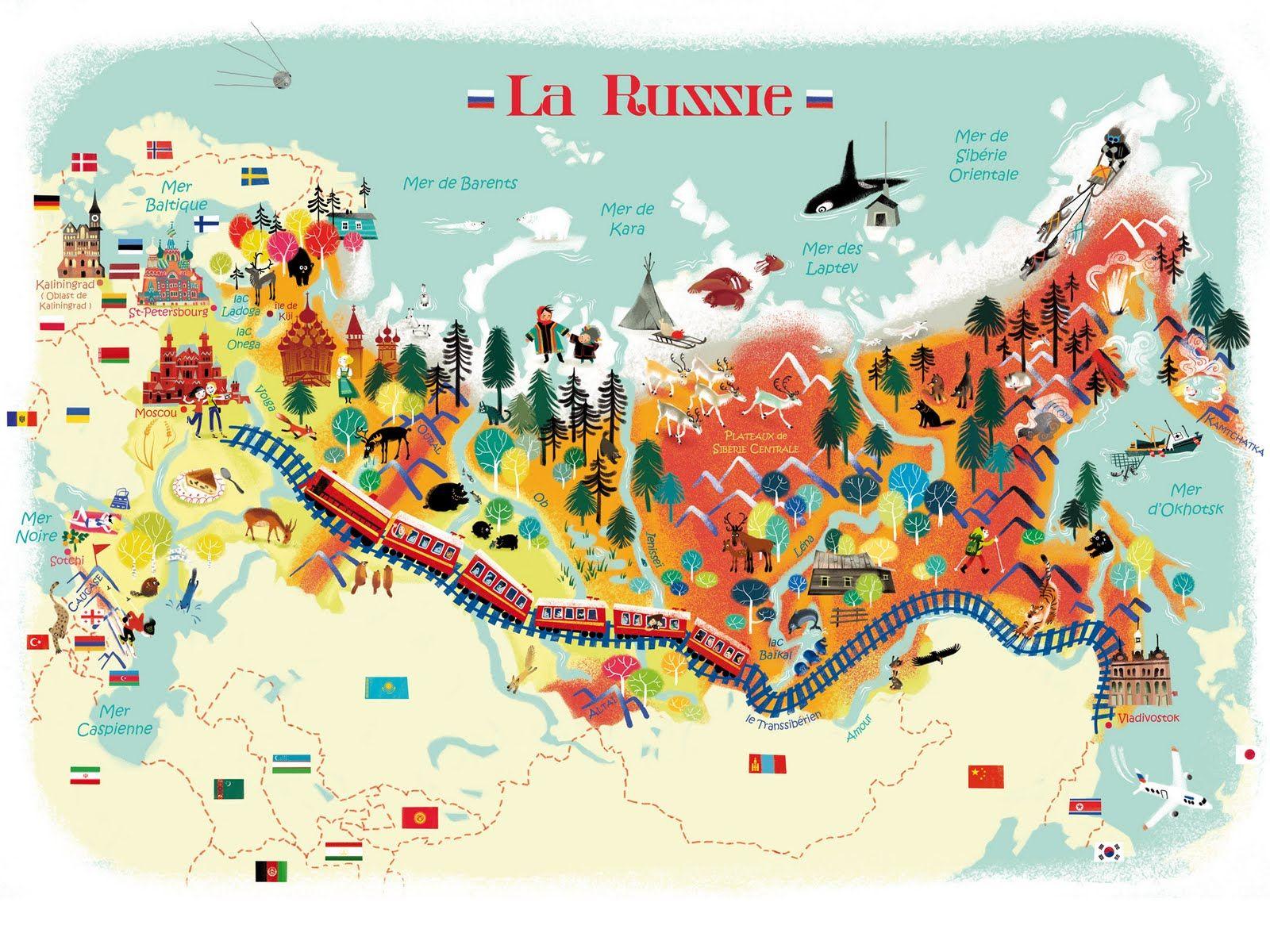 Nathalie Ragondet: mai 2010 | Carte russie, Carte de la russie