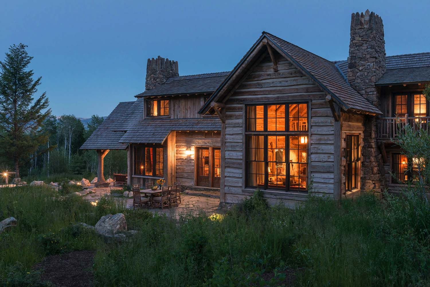 Beyond Beautiful Rustic Mountain Home With Fabulous Views Of The Tetons