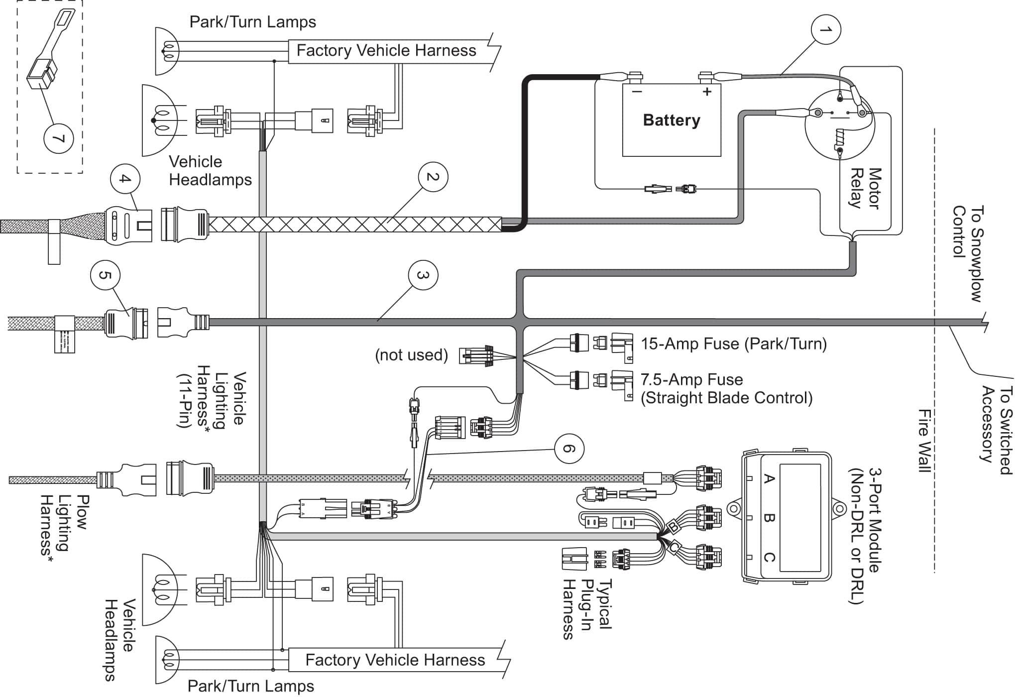meyers snow plow wiring diagram | snow plow, snow plow lights, electrical  wiring diagram  pinterest