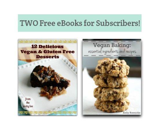 Free ebooks on gluten free and vegan baking.