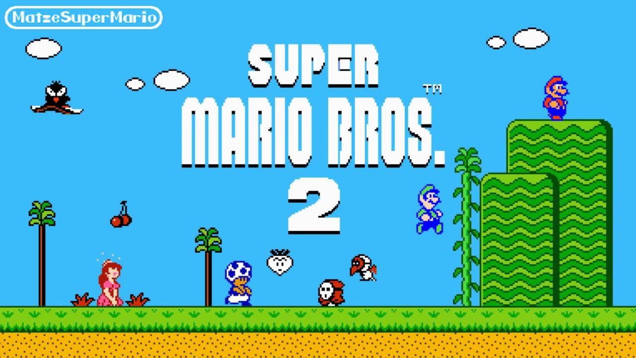 Super Mario Bros 2 Music Main Theme Overworld I Love This Song Super Mario Bros Super Mario World Super Mario