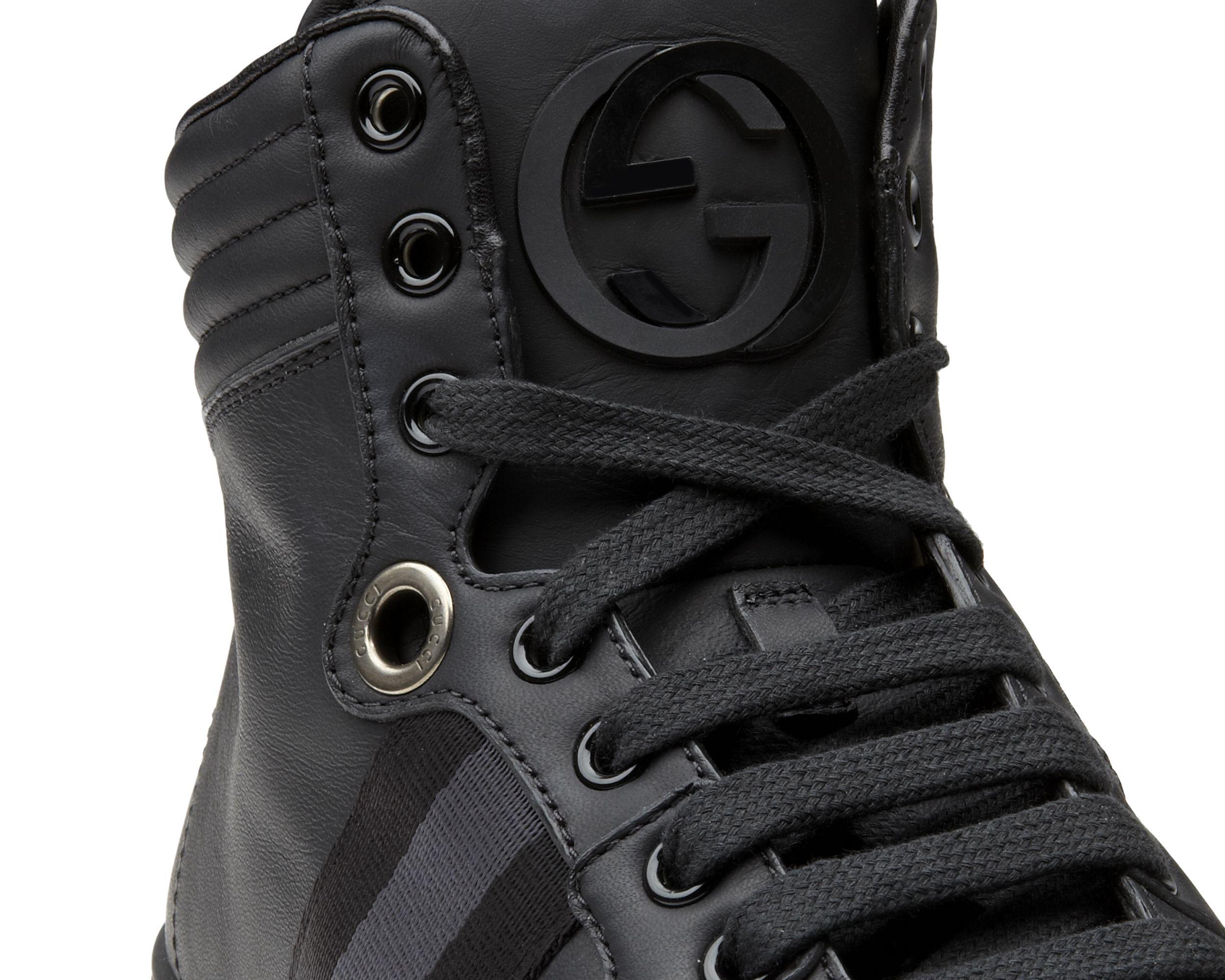 62a3bd41a60 Gucci Viaggio High Top Sneaker  gucciviaggio One of the most chic ...