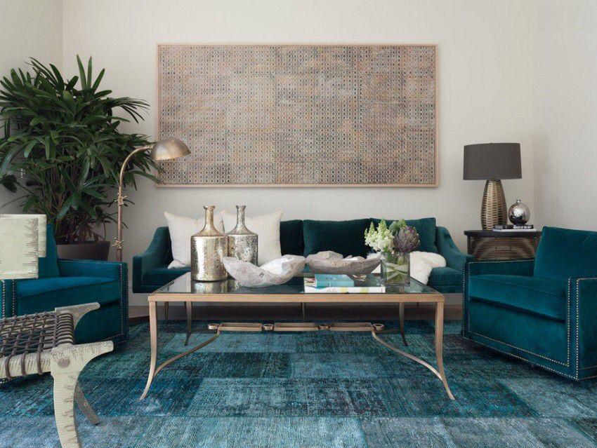 room - Cyan Living Room Decor