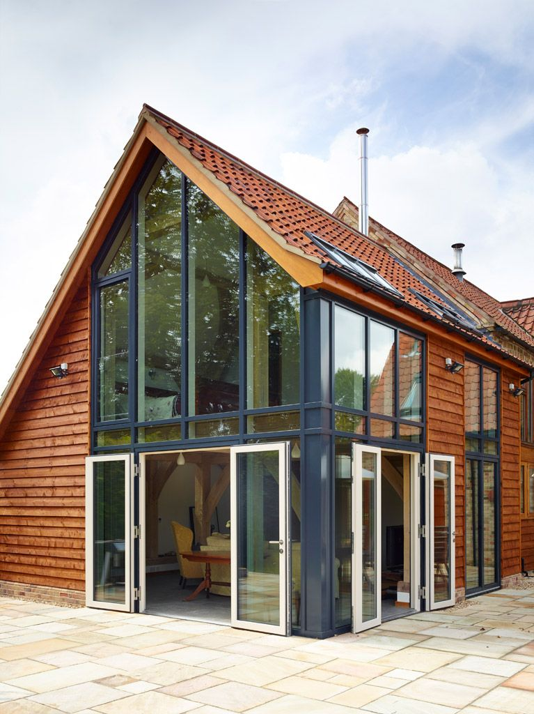 French Doors - Different Styles of Aluminium Cladding and Glazing