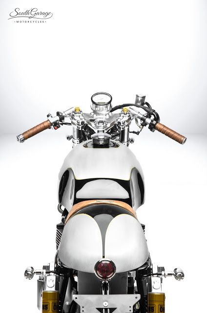 "Racing Cafè: Triumph ""Lyta"" by South Garage Motorcycles"