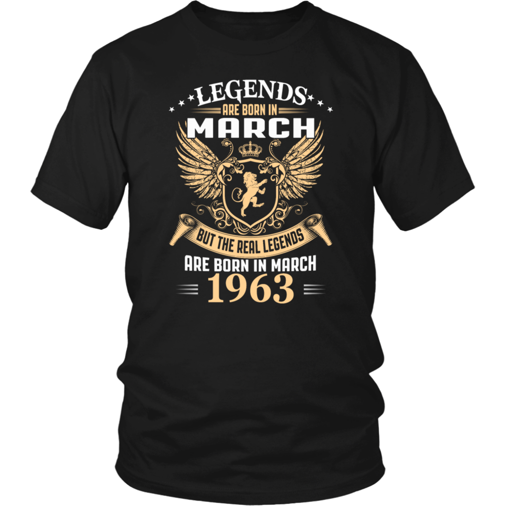 Great gift Legends Are Born In March Mens All Men Standard Unisex T-shirt